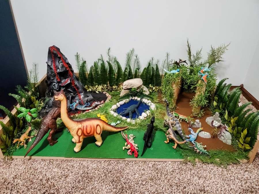 How to Make a Dinosaur Habitat – Choosing the Upside